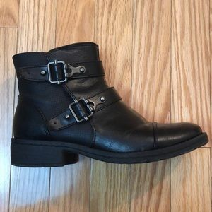 EUROSOFT by SOFFT black booties with buckles 7